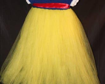Snow White empire dress