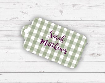 Place name labels - Isabella design and pre-printed with your guest names
