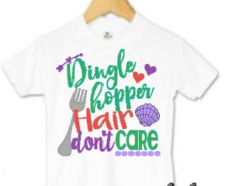 Dinglehopper  Hair // Disney // Little Mermaid