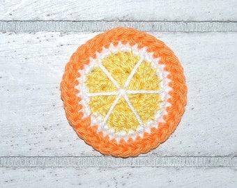 1 orange - crochet - application