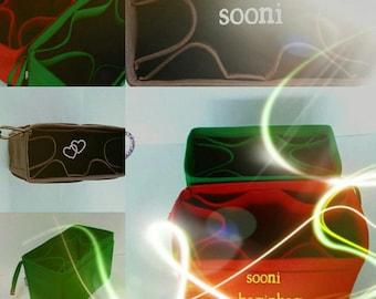 FOR LOUIS VUITTON :  baginbag,devide,bag insert organizer,shaper,sturdy,gift for her,felt bag organizer, bag insert