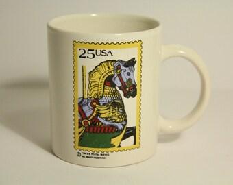 1988 U.S. Postal Service 25 Cent Mug