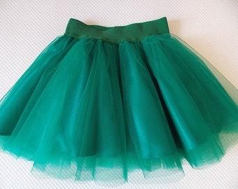Baby Tutu, tulle skirt baby, tutu skirt, tutu emerald, tutu girl, first birthday tutu, tutu ballerina skirt, tutu dress