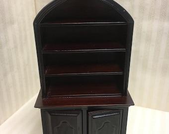 1:12 scale dolls house miniature cupboard