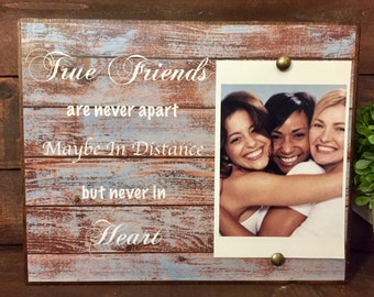Best Friends Picture Frame, Personalized Picture Frame, Best Friends, 4x6 Picture Frame