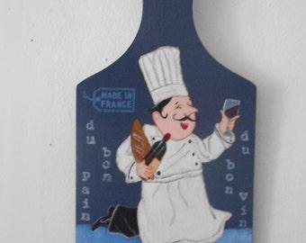 """Decorative kitchen set """"cook"""" - dark blue"""