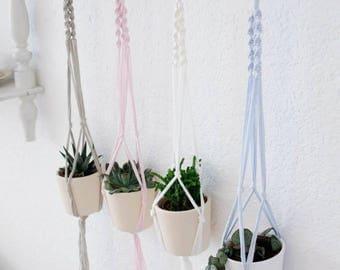 Mini macrame hanging