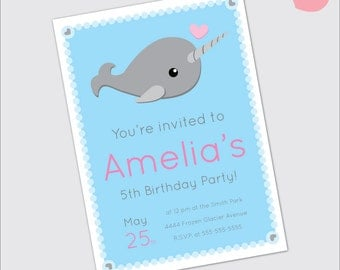 Narwhal Invitation