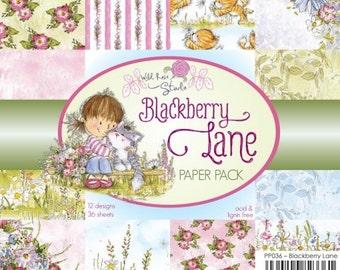 Blackberry Lane 6 x 6 paper pack