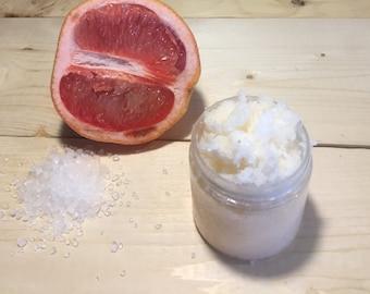Grapefruit Lemon Salt Scrub