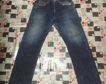Studio Dartisan jeans japan denim jeans pure blue japan momotaro oni denim samurai size 33 rare vintage
