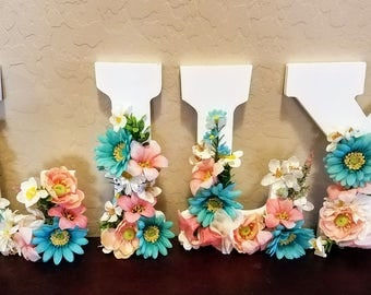 Letter-Words for Baby Showers, Parties, any occasion