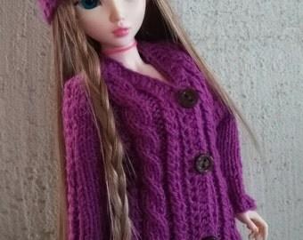 Minifee, BJD, MSD, 1/4 Knitted sweater