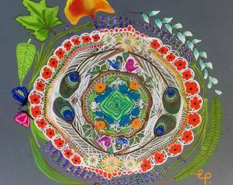 Original Artwork - The Circular Garden