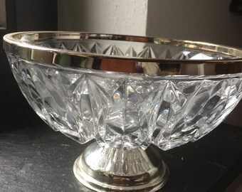 Vintage Glass Bowl Bonbonniere
