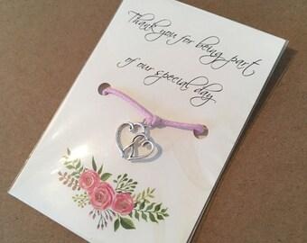 Wedding Friendship Bracelet