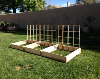 3ft x 3ft x 7in Cedar Raised Garden Bed - Free Shipping!