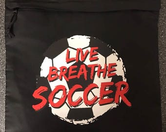 Soccer Cinch Bag