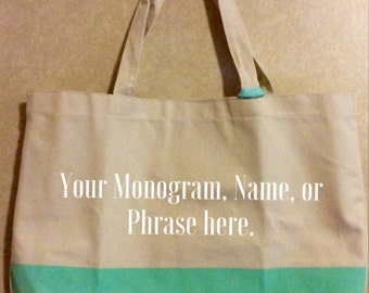 Peronalized Tote Bag