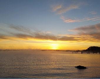 Heavens sunrise