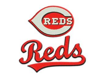 Reds embroidery design - Applique - Machine embroidery design