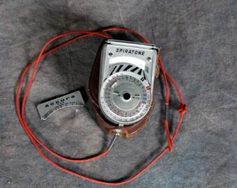 Spiratone Exposure Meter with Case Type NE-1 Nippon Kosoku Ind. Co