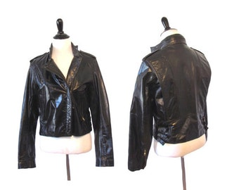 1970's Vintage Wilson Leather Jacket - Medium