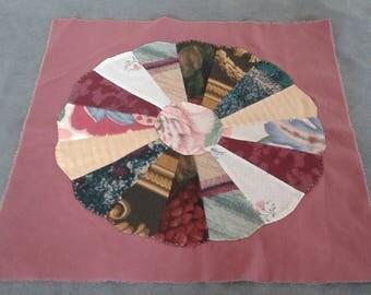 18 Dresden Plate Quilt Blocks - Handmade