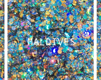 Maldives Chunky Festival Glitter for Face and Body