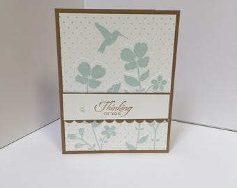 Wildflower Meadow Thinking of You Card