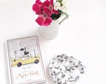 Barrette ladybugs-gift for her-Gift girl-elastic cords