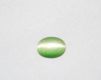 Cats eye cabochons 13x18 cabochon cats eye stone green cats eye green cabochons small cabachon smooth cabochons loose cabochon gentle stone