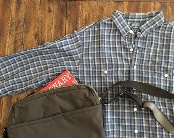Warm hued Polo by Ralph Lauren dress shirt in linen / cotton blend