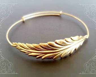 Leaf Bracelet  | Nature Bracelet | Gift for Her | Bridesmaids gifts | 2 3 4 Sisters gifts | Mom Bracelet
