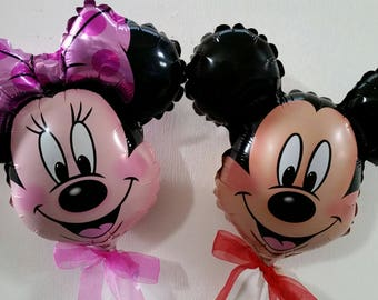 Mickey & Minnie Mouse Foil Balloon