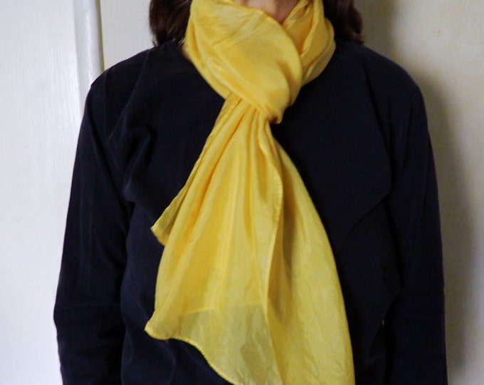 Bee Friendly silk scarf