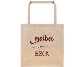 Customized Tote Bag Anniversary Gifts for Her Reusable Grocery Bag Canvas Tote Bag Cotton Tote Bag Wine Typography