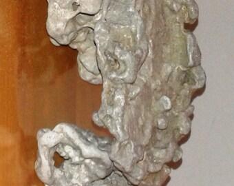 Aquarium Decorat Fish Tank  3 Natural Holey Sea Limestone  unusual