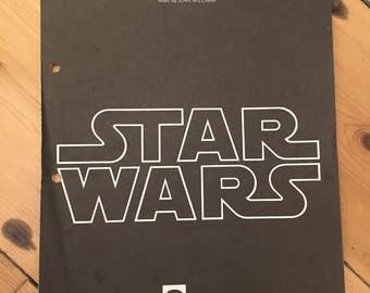 """Star Wars - """"Main Title"""" - sheet music (John Williams)"""