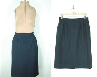 Vintage Pencil Skirt (1960s-1980s)