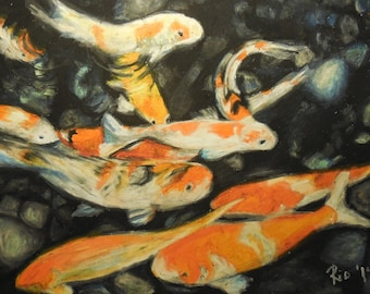 """fish- print only 8"""" by 10"""""""