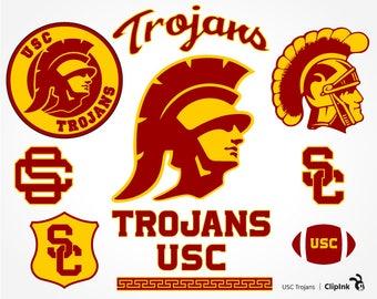 USC Trojans svg, Trojans clipart, USC svg, Troy svg, silhouette digital – svg, eps, png, dxf, pdf. Graphic Decor Cut Print Mug Shirt Decal.