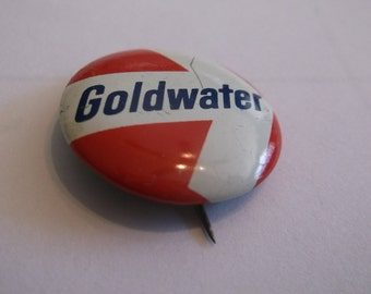 Berry Goldwater Political Campaign Button