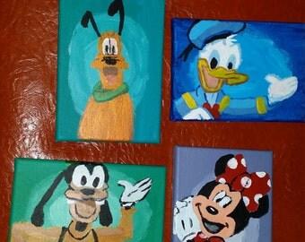 Disney inspired canvas