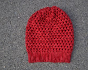 Puff Stitch Beanie - teen