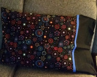 Multi Color/ Fireworks/ PillowCases