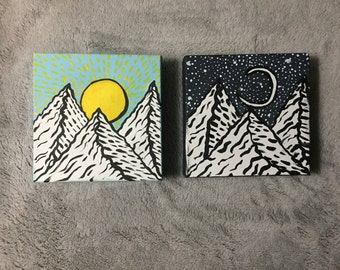 Day and Night Mountain