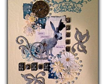 """Mixed Media Fine Art Collage ~ """"Your Journey"""""""