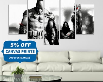 Batman, Batman Returns , Batman Cowl, Movie Decor, Batman Canvas, Canvas Wall Decor, comic wall art, superhero canvas, wall decor