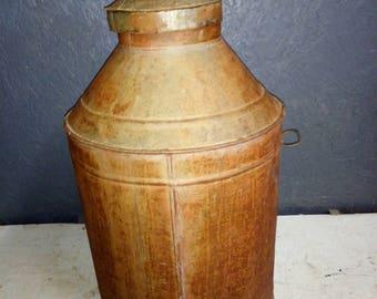large Tin Churn/Barrel